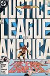 Justice League of America #261 comic books - cover scans photos Justice League of America #261 comic books - covers, picture gallery