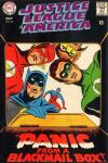 Justice League of America #62 comic books - cover scans photos Justice League of America #62 comic books - covers, picture gallery