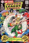 Justice League of America #67 comic books - cover scans photos Justice League of America #67 comic books - covers, picture gallery