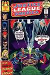 Justice League of America #98 comic books - cover scans photos Justice League of America #98 comic books - covers, picture gallery