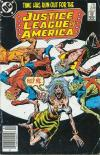 Justice League of America #249 comic books - cover scans photos Justice League of America #249 comic books - covers, picture gallery