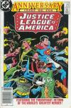 Justice League of America #250 comic books - cover scans photos Justice League of America #250 comic books - covers, picture gallery
