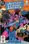 Justice League of America #251 comic books - cover scans photos Justice League of America #251 comic books - covers, picture gallery