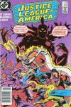Justice League of America #252 comic books - cover scans photos Justice League of America #252 comic books - covers, picture gallery