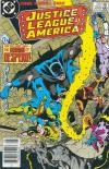 Justice League of America #253 comic books - cover scans photos Justice League of America #253 comic books - covers, picture gallery