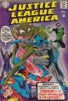 Justice League of America #49 comic books - cover scans photos Justice League of America #49 comic books - covers, picture gallery