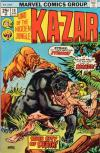 Ka-Zar #10 Comic Books - Covers, Scans, Photos  in Ka-Zar Comic Books - Covers, Scans, Gallery
