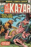 Ka-Zar #11 Comic Books - Covers, Scans, Photos  in Ka-Zar Comic Books - Covers, Scans, Gallery