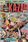 Ka-Zar #13 Comic Books - Covers, Scans, Photos  in Ka-Zar Comic Books - Covers, Scans, Gallery