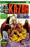 Ka-Zar #15 Comic Books - Covers, Scans, Photos  in Ka-Zar Comic Books - Covers, Scans, Gallery