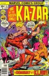 Ka-Zar #16 comic books - cover scans photos Ka-Zar #16 comic books - covers, picture gallery
