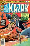 Ka-Zar #17 Comic Books - Covers, Scans, Photos  in Ka-Zar Comic Books - Covers, Scans, Gallery