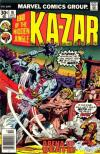 Ka-Zar #18 comic books - cover scans photos Ka-Zar #18 comic books - covers, picture gallery