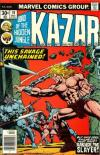 Ka-Zar #19 Comic Books - Covers, Scans, Photos  in Ka-Zar Comic Books - Covers, Scans, Gallery