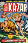 Ka-Zar #2 comic books - cover scans photos Ka-Zar #2 comic books - covers, picture gallery