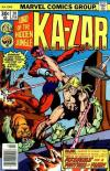 Ka-Zar #20 comic books - cover scans photos Ka-Zar #20 comic books - covers, picture gallery