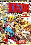 Ka-Zar #3 Comic Books - Covers, Scans, Photos  in Ka-Zar Comic Books - Covers, Scans, Gallery