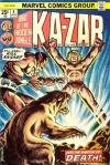 Ka-Zar #4 Comic Books - Covers, Scans, Photos  in Ka-Zar Comic Books - Covers, Scans, Gallery