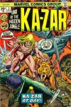 Ka-Zar #5 Comic Books - Covers, Scans, Photos  in Ka-Zar Comic Books - Covers, Scans, Gallery