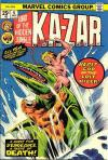Ka-Zar #6 comic books - cover scans photos Ka-Zar #6 comic books - covers, picture gallery