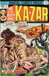 Ka-Zar #9 comic books - cover scans photos Ka-Zar #9 comic books - covers, picture gallery