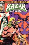 Ka-Zar the Savage #11 comic books - cover scans photos Ka-Zar the Savage #11 comic books - covers, picture gallery