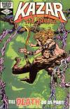 Ka-Zar the Savage #13 comic books - cover scans photos Ka-Zar the Savage #13 comic books - covers, picture gallery