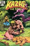 Ka-Zar the Savage #16 comic books - cover scans photos Ka-Zar the Savage #16 comic books - covers, picture gallery