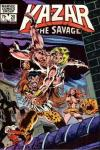 Ka-Zar the Savage #20 comic books - cover scans photos Ka-Zar the Savage #20 comic books - covers, picture gallery