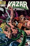 Ka-Zar the Savage #27 comic books - cover scans photos Ka-Zar the Savage #27 comic books - covers, picture gallery
