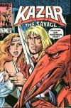 Ka-Zar the Savage #30 comic books - cover scans photos Ka-Zar the Savage #30 comic books - covers, picture gallery