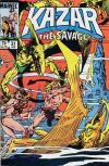 Ka-Zar the Savage #31 comic books - cover scans photos Ka-Zar the Savage #31 comic books - covers, picture gallery