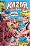 Ka-Zar the Savage #32 comic books - cover scans photos Ka-Zar the Savage #32 comic books - covers, picture gallery