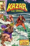 Ka-Zar the Savage #33 comic books - cover scans photos Ka-Zar the Savage #33 comic books - covers, picture gallery