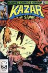 Ka-Zar the Savage #6 comic books - cover scans photos Ka-Zar the Savage #6 comic books - covers, picture gallery