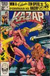 Ka-Zar the Savage #8 comic books - cover scans photos Ka-Zar the Savage #8 comic books - covers, picture gallery