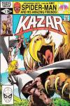 Ka-Zar the Savage #9 comic books - cover scans photos Ka-Zar the Savage #9 comic books - covers, picture gallery
