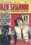 Ken Shannon #10 comic books for sale