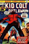 Kid Colt Outlaw #168 comic books - cover scans photos Kid Colt Outlaw #168 comic books - covers, picture gallery