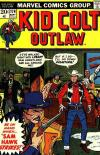 Kid Colt Outlaw #174 comic books - cover scans photos Kid Colt Outlaw #174 comic books - covers, picture gallery