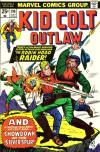 Kid Colt Outlaw #196 comic books - cover scans photos Kid Colt Outlaw #196 comic books - covers, picture gallery