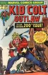 Kid Colt Outlaw #200 comic books - cover scans photos Kid Colt Outlaw #200 comic books - covers, picture gallery