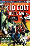 Kid Colt Outlaw #201 comic books - cover scans photos Kid Colt Outlaw #201 comic books - covers, picture gallery