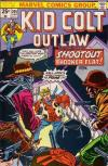 Kid Colt Outlaw #205 comic books - cover scans photos Kid Colt Outlaw #205 comic books - covers, picture gallery