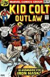 Kid Colt Outlaw #206 comic books - cover scans photos Kid Colt Outlaw #206 comic books - covers, picture gallery