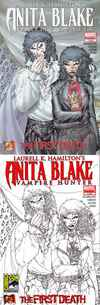 Laurell K. Hamilton's Anita Blake - Vampire Hunter: The First Death #1 comic books - cover scans photos Laurell K. Hamilton's Anita Blake - Vampire Hunter: The First Death #1 comic books - covers, picture gallery