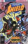 Legend of the Shield #4 comic books - cover scans photos Legend of the Shield #4 comic books - covers, picture gallery