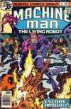 Machine Man #8 comic books - cover scans photos Machine Man #8 comic books - covers, picture gallery