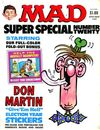Mad Special #20 comic books - cover scans photos Mad Special #20 comic books - covers, picture gallery