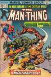 Man-Thing #20 comic books - cover scans photos Man-Thing #20 comic books - covers, picture gallery